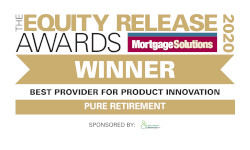 Equity Release Awards 2020 WINNER - Best Provider for Development and Support - Sponsored by Equity Release Supermarket