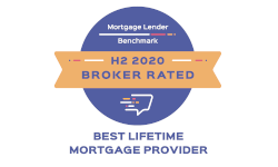 Mortgage Lender Benchmark - H2 2020 Broker Rated - Best Lifetime Mortgage Provider 2020