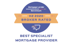 Mortgage Lender Benchmark - H2 2020 Broker Rated - Best Specialist Mortgage Provider 2020