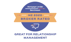 Mortgage Lender Benchmark - H2 2020 Broker Rated - Great For Relationship Management
