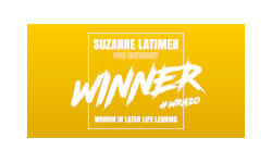 Women in Later Life Lending WINNER - Suzanne Latimer